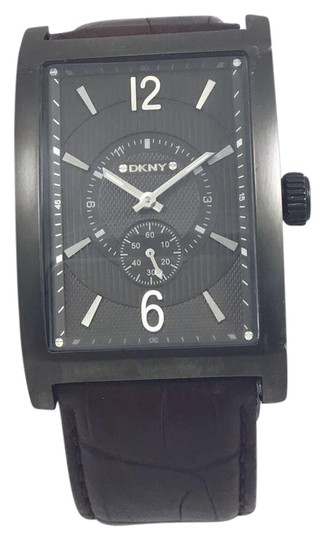 d7ec3270fc66c DKNY DKNY NY1352 Leather PVD Coated Stell Quartz Mens Watch Image 0 ...
