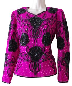 Other Top pink black