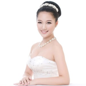 Bendable Pearl White Hair Comb Flexible Long Large Tiara Prom Wedding Jewelry Bling