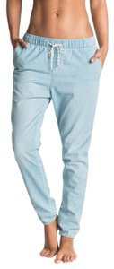 Roxy Relaxed Fit Jeans-Light Wash