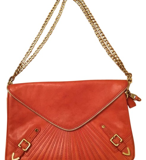 Preload https://img-static.tradesy.com/item/21216520/tangerinemangoorange-leather-shoulder-bag-0-1-540-540.jpg
