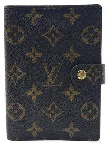 Louis Vuitton monogram canvas small agenda PM cover