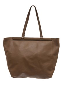 The Row Tote in Taupe