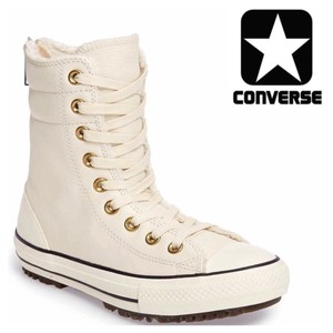 Converse Parchment, egret, Black, White Athletic