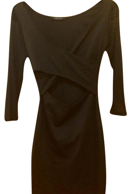 Item - Black Sexy Short Night Out Dress Size 4 (S)