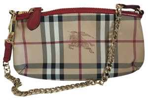 Burberry Wristlet in red