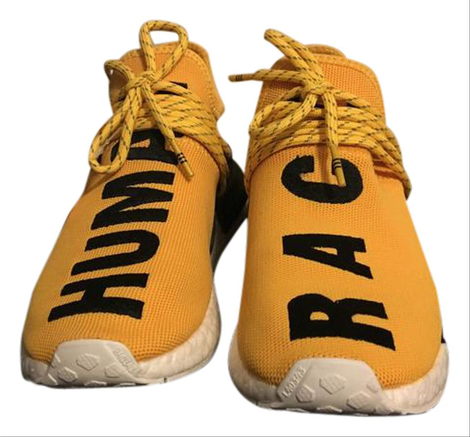 c4b605db2 adidas Yellow Pw Human Race Nmd Pharrell Williams Sneakers Size US 6 ...