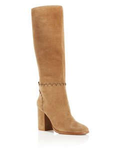 Tory Burch Suede Contraire tan Boots