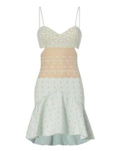 Jonathan Simkhai Cocktail Trendy Designer Cutout Summer Dress