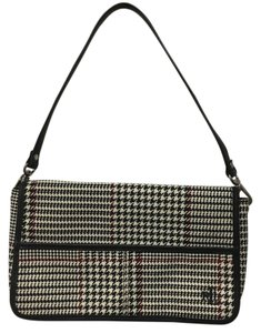 Lauren Ralph Lauren Houndstooth Designer Shoulder Bag