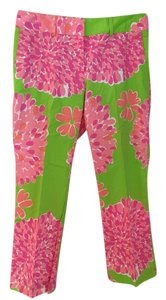 Lilly Pulitzer Like New! Originals! Straight Pants Greens, pinks, white