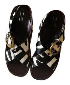 Marc Jacobs Black and white Sandals