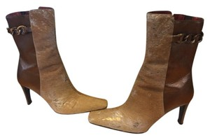 Donald J. Pliner Hair Calf sand bronze metallic Boots