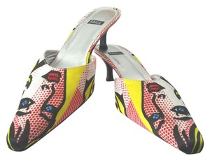 Costa Blanca Pop Art Roy Lichtenstein Graphic Pumps