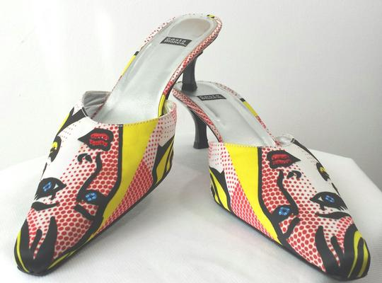 Costa Blanca Pop Art Roy Lichtenstein Retro Art Inspired Graphic Pumps