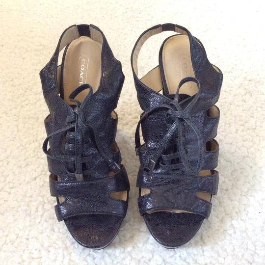 Coach Black Sandals Image 2