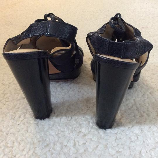 Coach Black Sandals Image 3