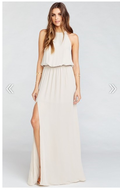 Item - The Ring Crisp Heather Casual Bridesmaid/Mob Dress Size 4 (S)