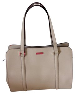 Kate Spade Satchel in Cream with gold hardware