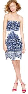 J.Crew short dress Porcelain Paisley (blue) on Tradesy