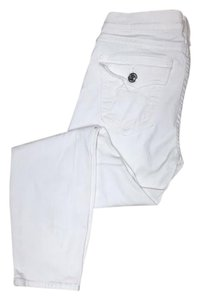 True Religion Capris White