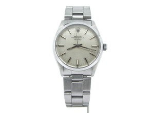 Rolex Mens Rolex Stainless Steel Air-King Silver 5500