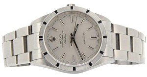 Rolex Mens Rolex Stainless Steel Air-King Silver 14010