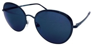 Chanel Lasted Dark Green and Black Round Spring Chanel Sunglasses 4206 55
