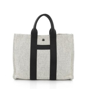 Hermès Toile Tote in Off white