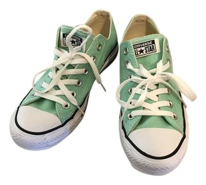 Converse Bright Color Mint Green Athletic