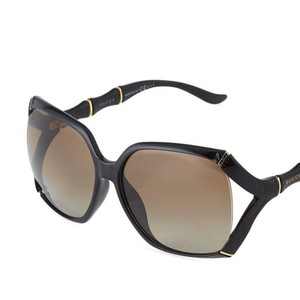 Gucci Authentic Gucci Open Temple Bamboo detail sunglasses