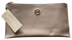 Michael Kors Wristlet in Dark Camel