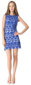 Alice + Olivia short dress Blue Tory Burch Tibi Lela Rose Dvf Rebecca Taylor on Tradesy