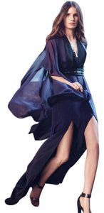Halston Ombre Chic Hi Lo Dress