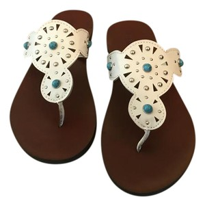 American Eagle Outfitters White Sandals