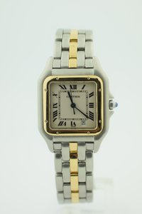 Cartier Cartier Steel & Gold Large Panther w/Date