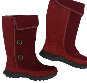 Lands' End red Boots