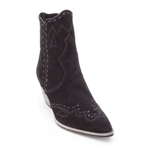 Matisse Bohemian Festival Stagecoach Western Black Boots