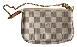 Louis Vuitton Louis Vuitton Damier Azur Canvas Mini Pochette