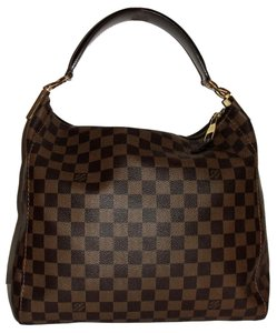 Louis Vuitton Damier Ebene Hobo Bag