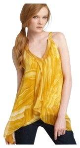Diane von Furstenberg Top Yellow yellow mixed
