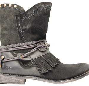 Musse And Cloud charcoal Boots
