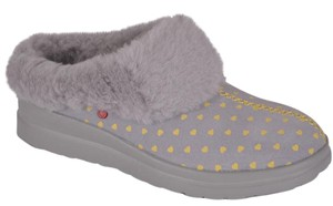 UGG Australia Ugg Slippers House Ugg Slippers Lilac and Grey Mules