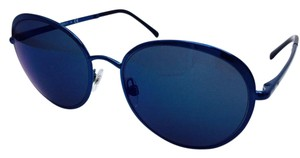 Chanel Dark Blue Chanel Round Spring Collection Sunglasses 4206 c.469/Z6 55