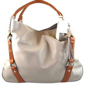 Jessica Simpson Tote in Grey/Brown