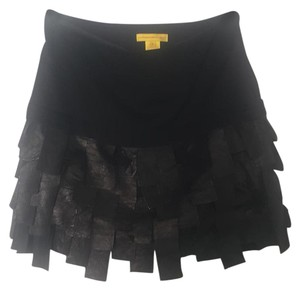 Catherine Malandrino Mini Skirt Black