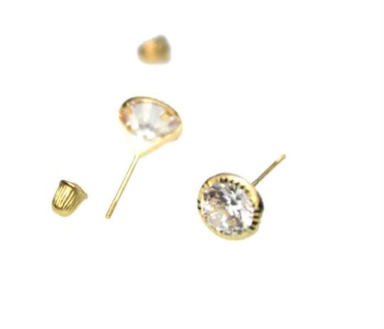 Other 14 KT Yellow GOLD (CZ) Woman and (children) earring Image 1