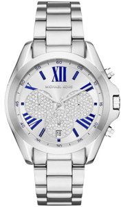 Michael Kors Michael Kors bradshaw crystal silver and blue watch