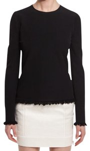 Tom Ford Fringe Knit Long Sleeve Sweater