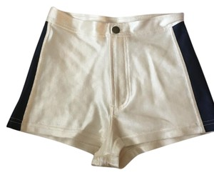 American Apparel Shorts two-tone pearl and black
